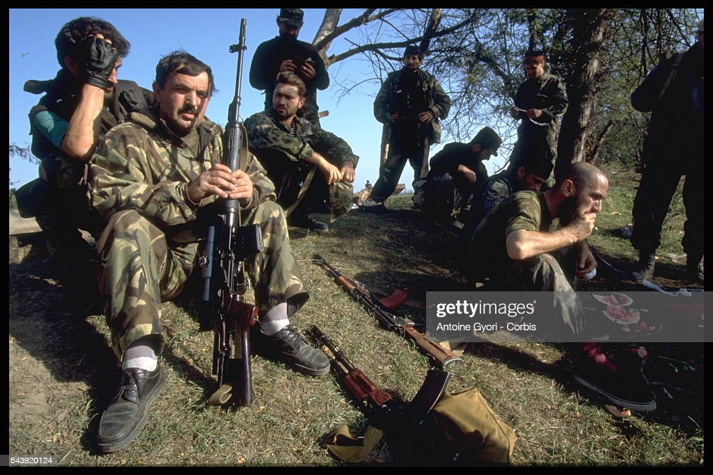 Consequences of War in Chechnya : News Photo