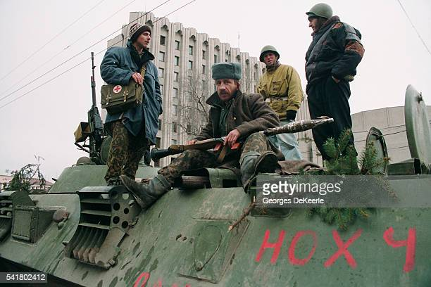 Chechians During Russian Occupation of Grozny