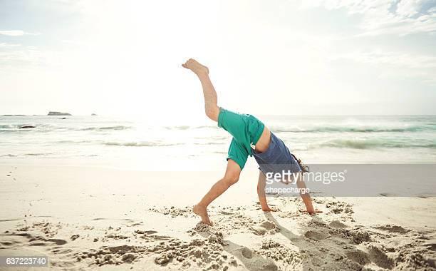 Check out my cartwheel!