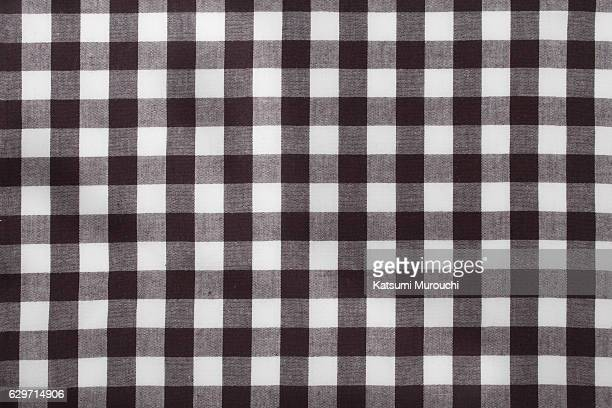 Check pattern cloth texture background