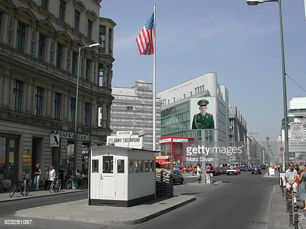 Check Point Charlie in Berlin Germany