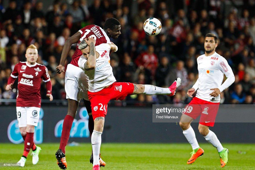 FC Metz v AS Nancy-Lorraine - Ligue 1 : News Photo