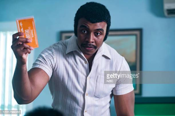 """Check Your Head"""" Episode 104 -- Pictured: Joseph Lee Anderson as Rocky Johnson --"""