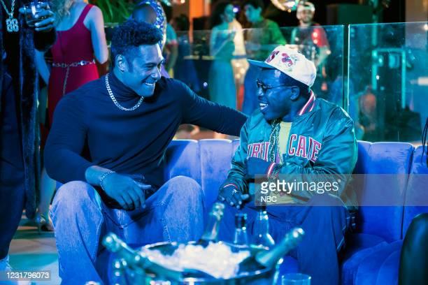 "Check Your Head"" Episode 104 -- Pictured: Uli Latukefu as Dwayne, Lovensky Jean-Baptiste as Uncle Luke --"