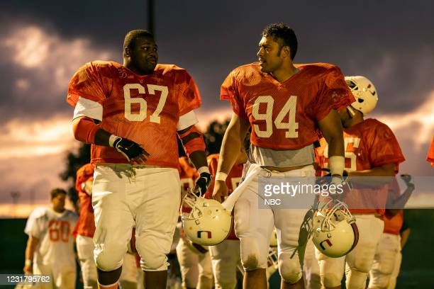 "Check Your Head"" Episode 104 -- Pictured: Wavyy Jonez as Russell Maryland, Uli Latukefu as Dwayne --"
