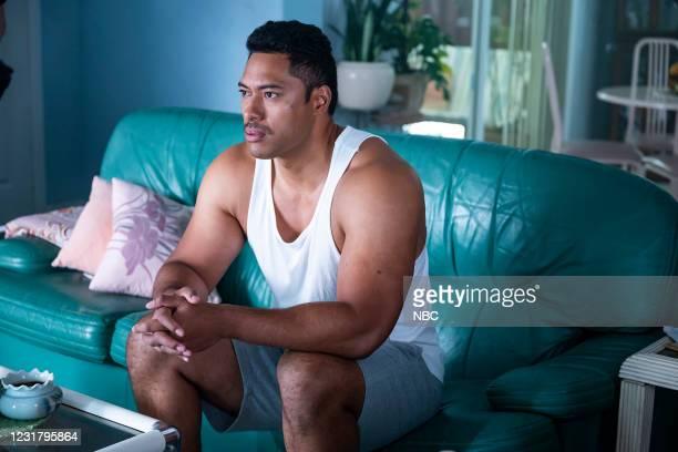 "Check Your Head"" Episode 108 -- Pictured: Uli Latukefu as Dwayne --"