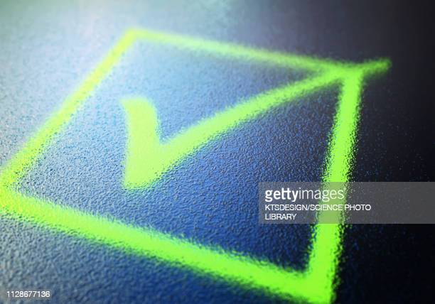 checkbox, illustration - check mark stock pictures, royalty-free photos & images