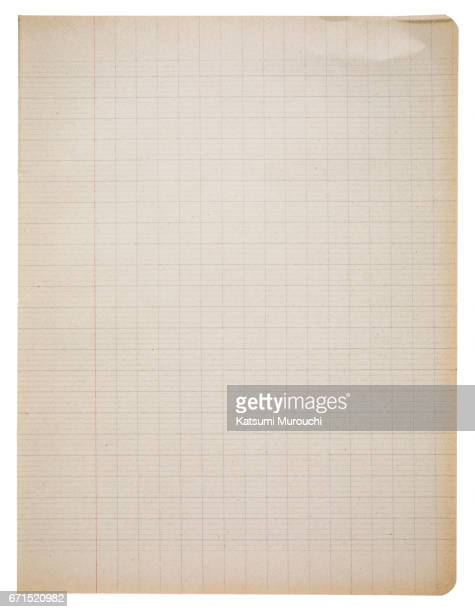 Checked paper textures background