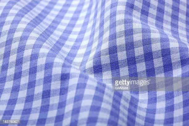 Tissu motif damier