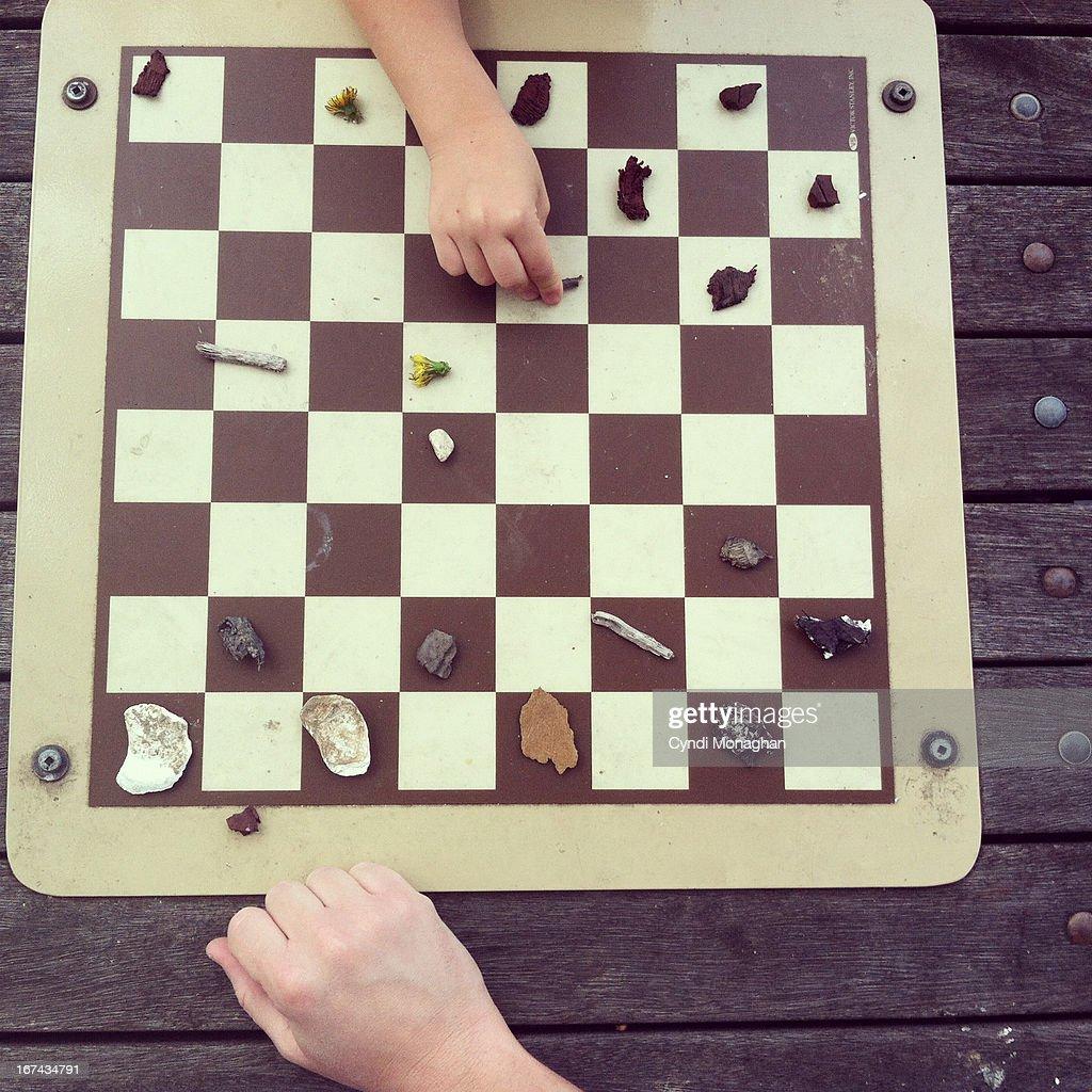 Checkers : Foto de stock
