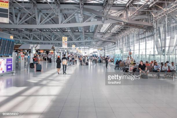 Check-In Area Of Suvarnabhumi Airport In Bangkok, Thailand