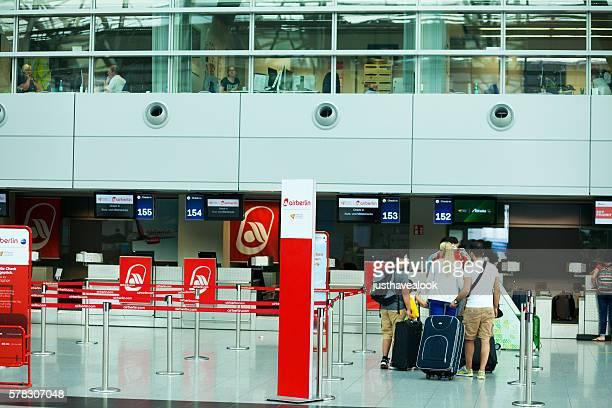Check-in at Air Berlin