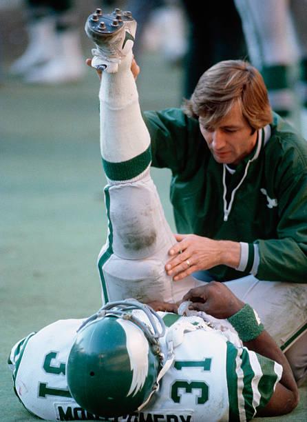 Checking an Injured Football Player