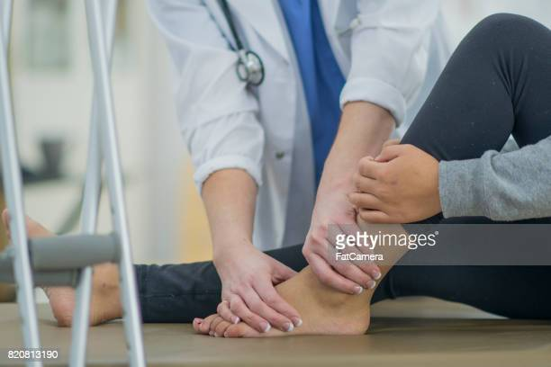 Checking Ankle