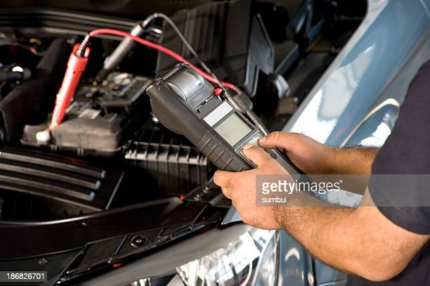 Checking Car Battery