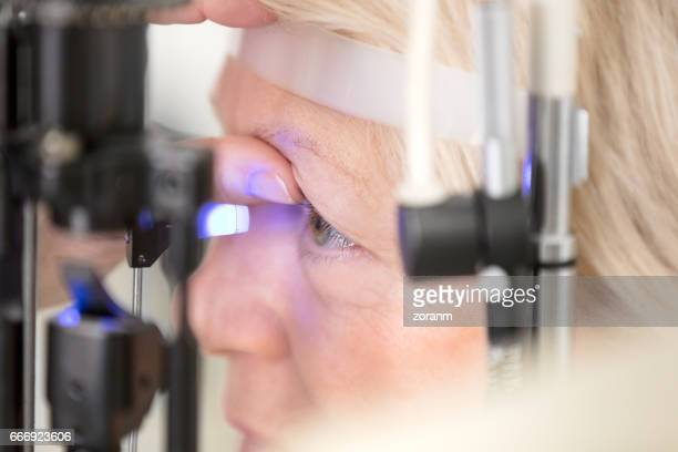 Checking for glaucoma