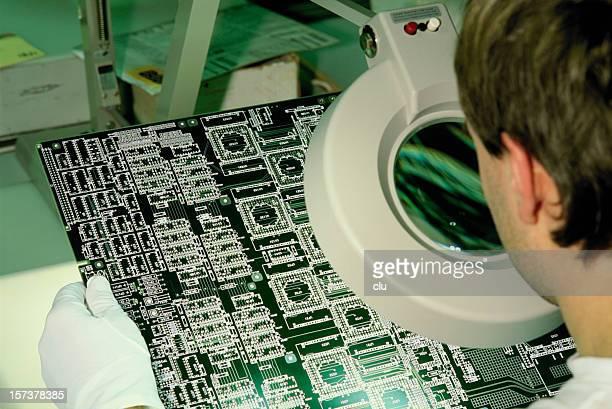 Überprüfung micro-chip