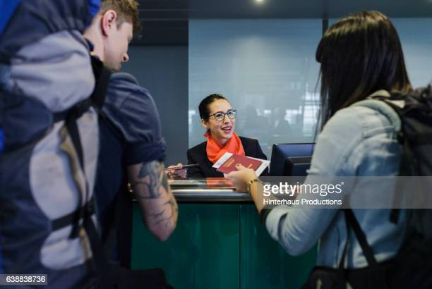 Checking-In at Airline Counter