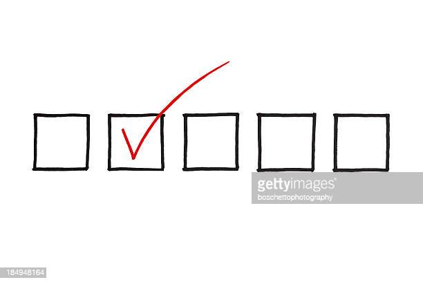 checklist - questionnaire stock photos and pictures