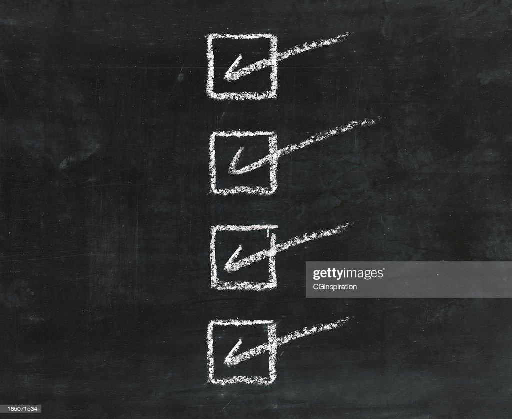 Checklist : Stock Photo