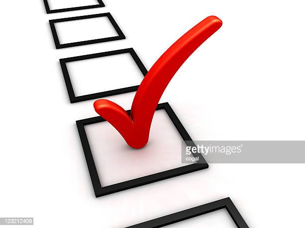 checkmark. - checkbox stock photos and pictures
