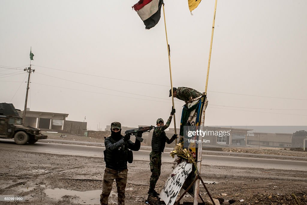 Iraqi Forces Take Control Of East Mosul : News Photo