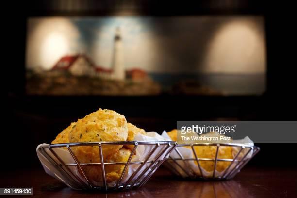 Cheddar Bay Biscuits at Red Lobster restaurant on S. Van Dorn St. Photographed in Alexandria, VA. .