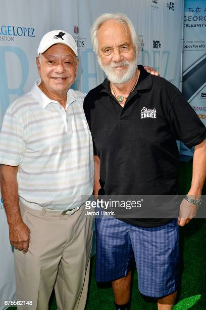 Cheech and Chong attend the 10th Annual George Lopez Celebrity Golf Classic at Lakeside Country Club on May 1 2017 in Toluca Lake California