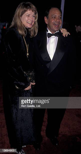 Cheech Marin and wife Patti Heid attend 23rd Annual People's Choice Awards on January 12 1997 at the Barker Hanger at Santa Monica Airport in Santa...