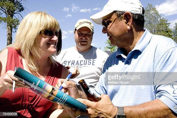 Cheech Marin at the American Century Celebrity Golf Tournament