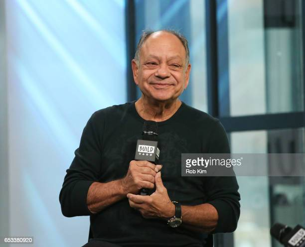 Cheech Marin attends the Build Series to discuss 'Cheech Is Not My Real Name But Don't Call Me Chong' at Build Studio on March 14 2017 in New York...
