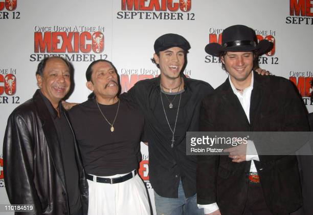 Cheech Marin Danny Trejo Enrique Iglesias and Robert Rodriguez director
