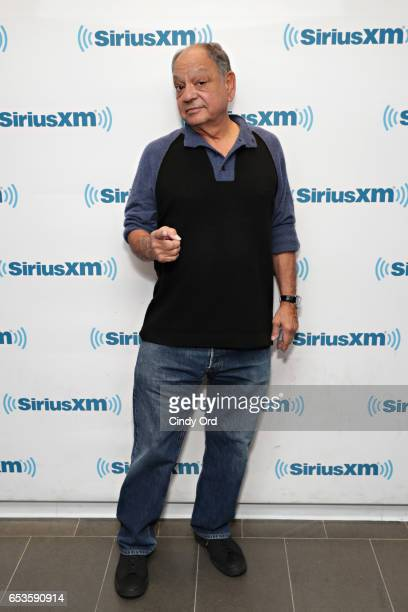 Cheech Marin discusses his new memoir at the SiriusXM 'Town Hall' series with host Ron Bennington at SiriusXM Studios on March 15 2017 in New York...