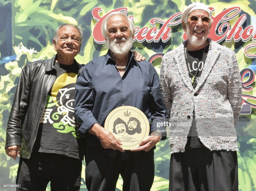 Cheech Marin And Tommy Chong Awarded With The Key To The City Of West Hollywood