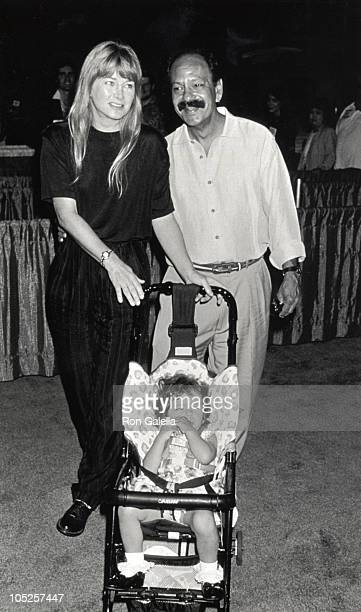 Cheech Marin Wife Patti Daughter during The American BookSellers Association Annual Convention and Trade Show at Los Angeles Convention Center in Los...