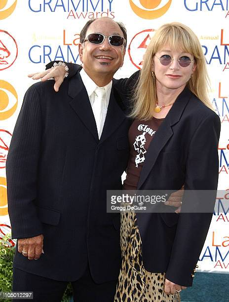Cheech Marin wife Patti Heid during 3rd Annual Latin GRAMMY Awards Arrivals at Kodak Theatre in Hollywood California United States