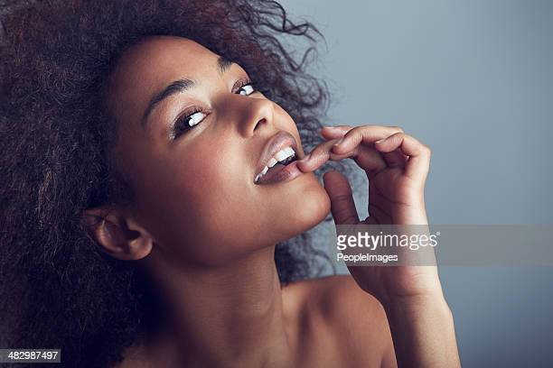 cheeky confidence - black women stock photos and pictures