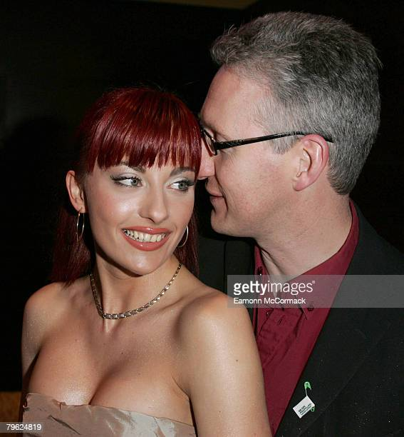 Cheeky Girl Gabriela Irimia and MP Lembit Opik at The 10th Annual Macmillan Cancer Support, Parliamentary Palace of Varieties Show at the...