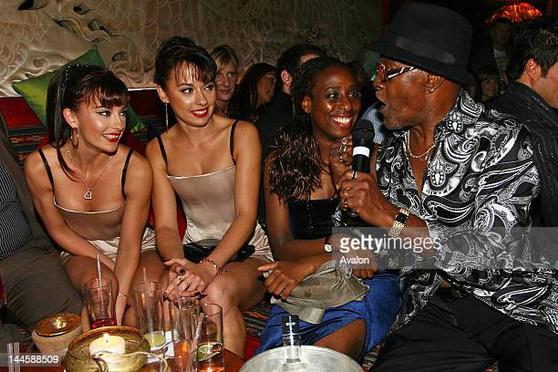 Cheeky Girls and Billy Paul David Gest Promotional Evening for New Years All Star Soul Spectacular at ChinaWhite London 11th October 2006 15945