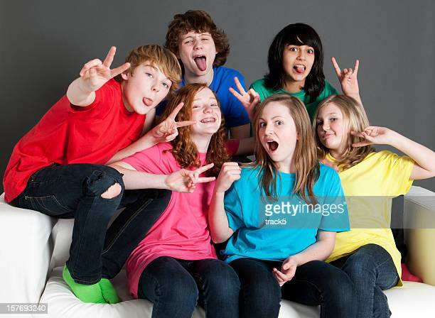 cheeky teens