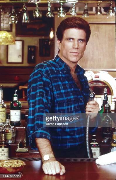 Cheer star Ted Danson poses for a portrait in October 1983 in Los Angeles California