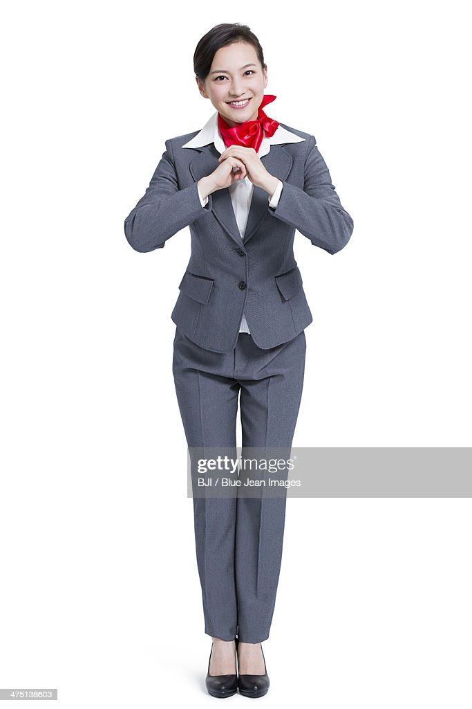 Cheerful businesswoman offering traditional chinese new year cheerful businesswoman offering traditional chinese new year greeting stock photo m4hsunfo