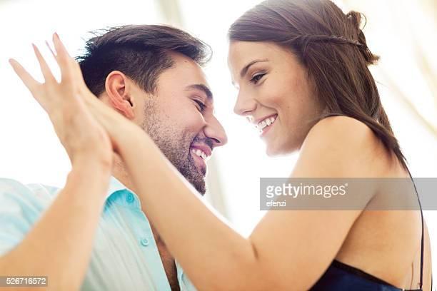 Cheerful Couple Dancing