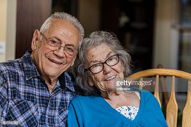 Cheerful Elderly Couple Portrait
