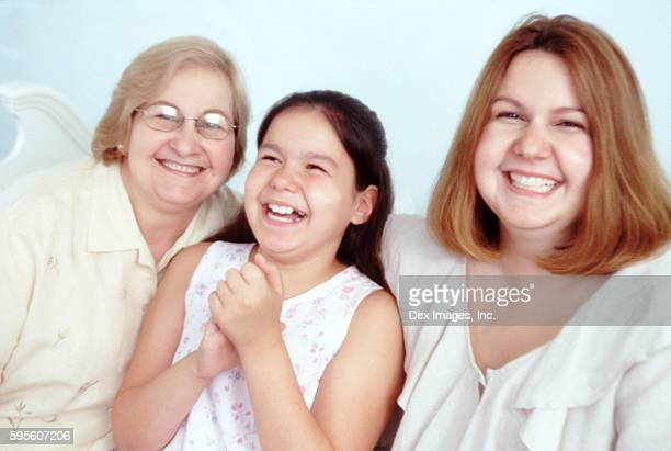 cheerful females - fat granny stock pictures, royalty-free photos & images