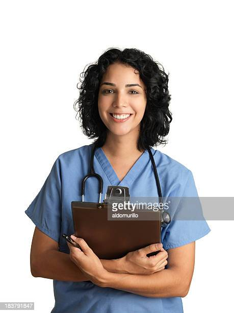 Cheerful healthcare professional