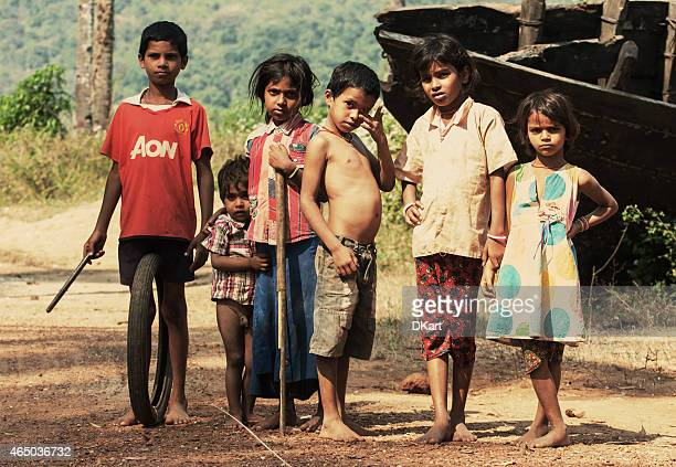 Cheerful Indian children