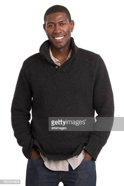 Cheerful Male Casual Portrait
