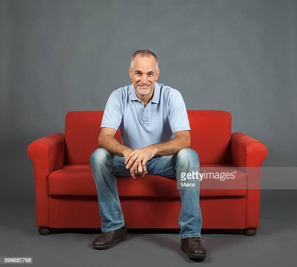 cheerful mature man portrait - só um homem - fotografias e filmes do acervo