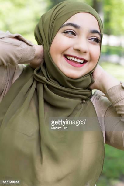 Cheerful #MuslimGirl